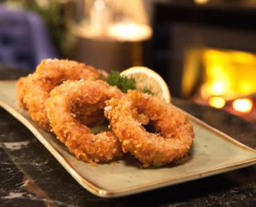 Τραγανά onion rings